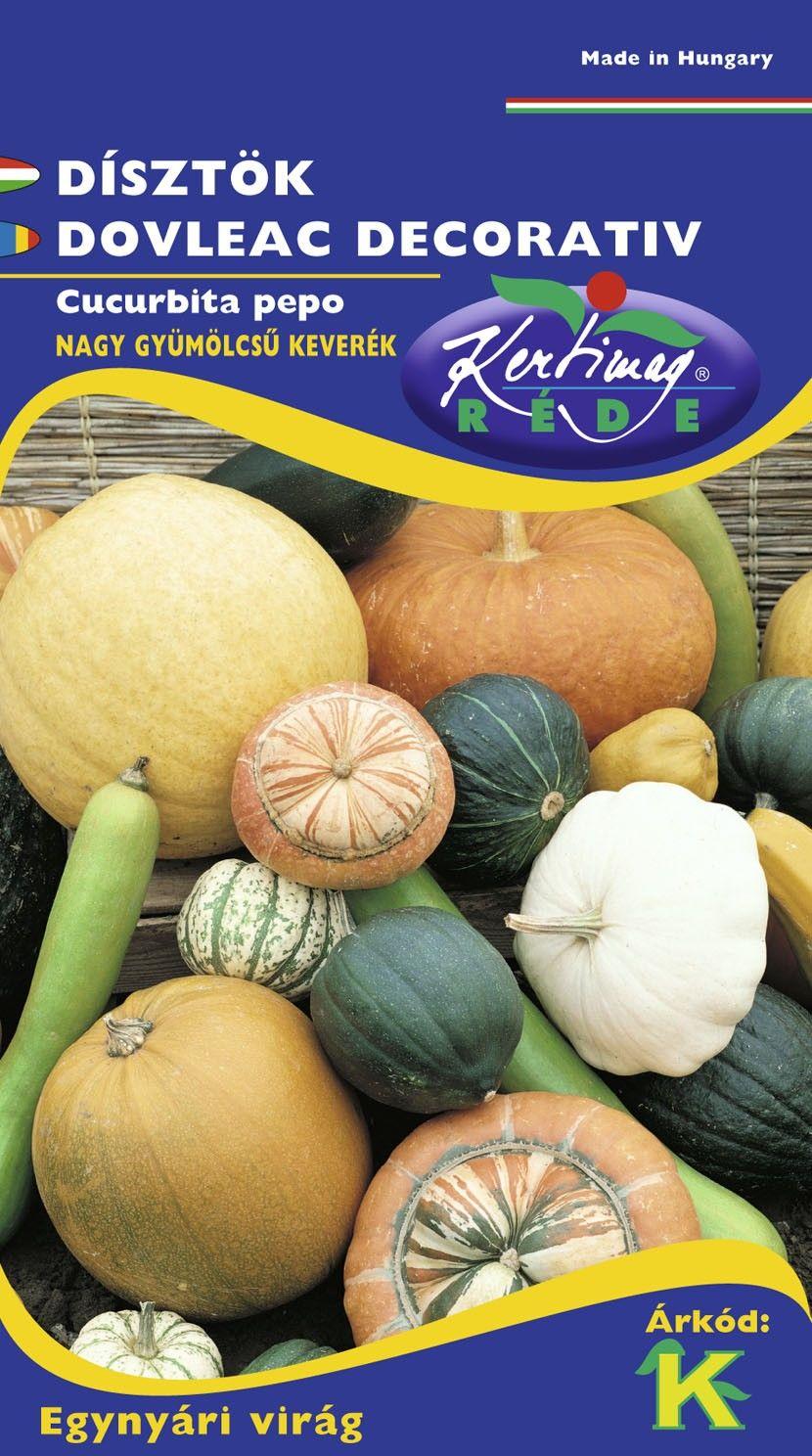 Seminte de Dovleac decorativ amestec fructe mari - KM - Cucurbita pepo