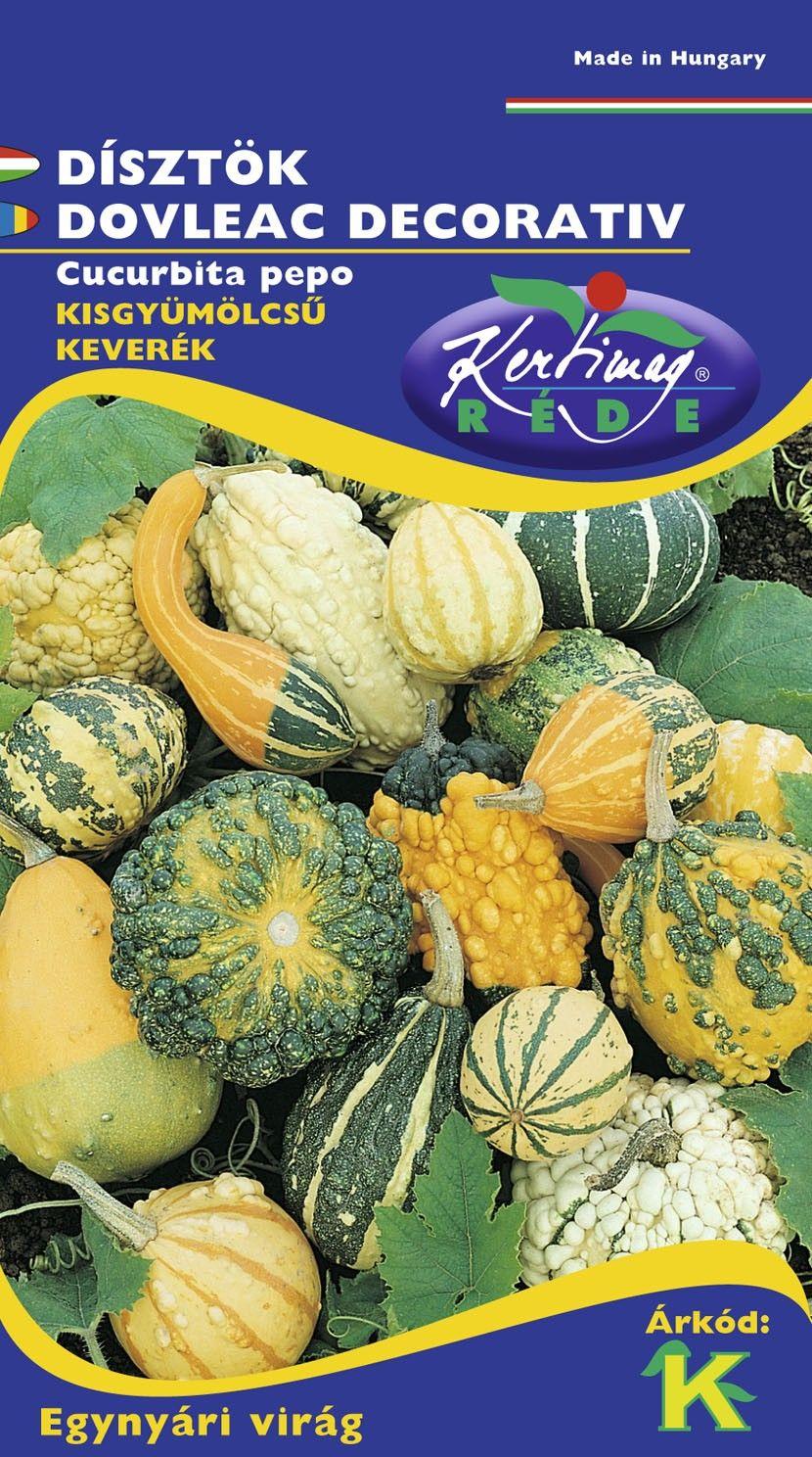 Seminte de Dovleac decorativ fructe mici - KM - Cucurbita pepo