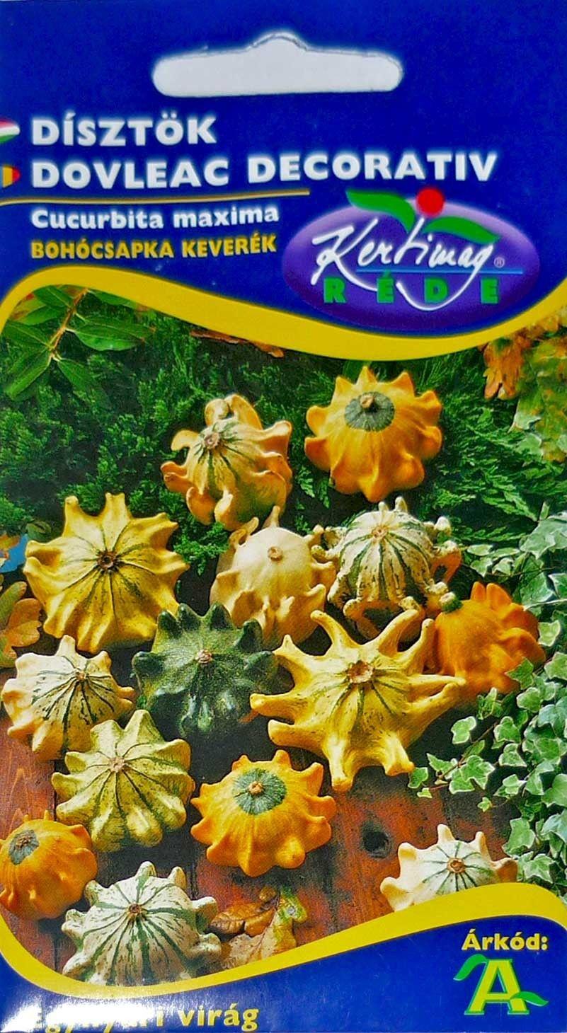 Seminte de Dovleac decorativ palarie de clovn - KM - Cucurbita maxima