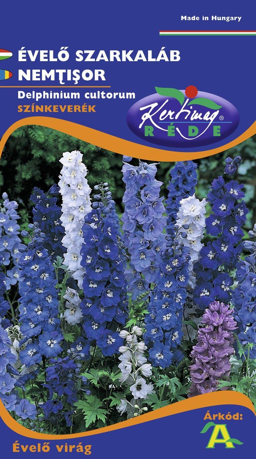 Seminte de Nemtisor mix - KM - Delphinium cultorum