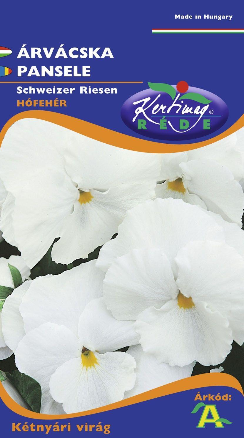 Seminte de Panselute albe - KM - Viola wittrockiana