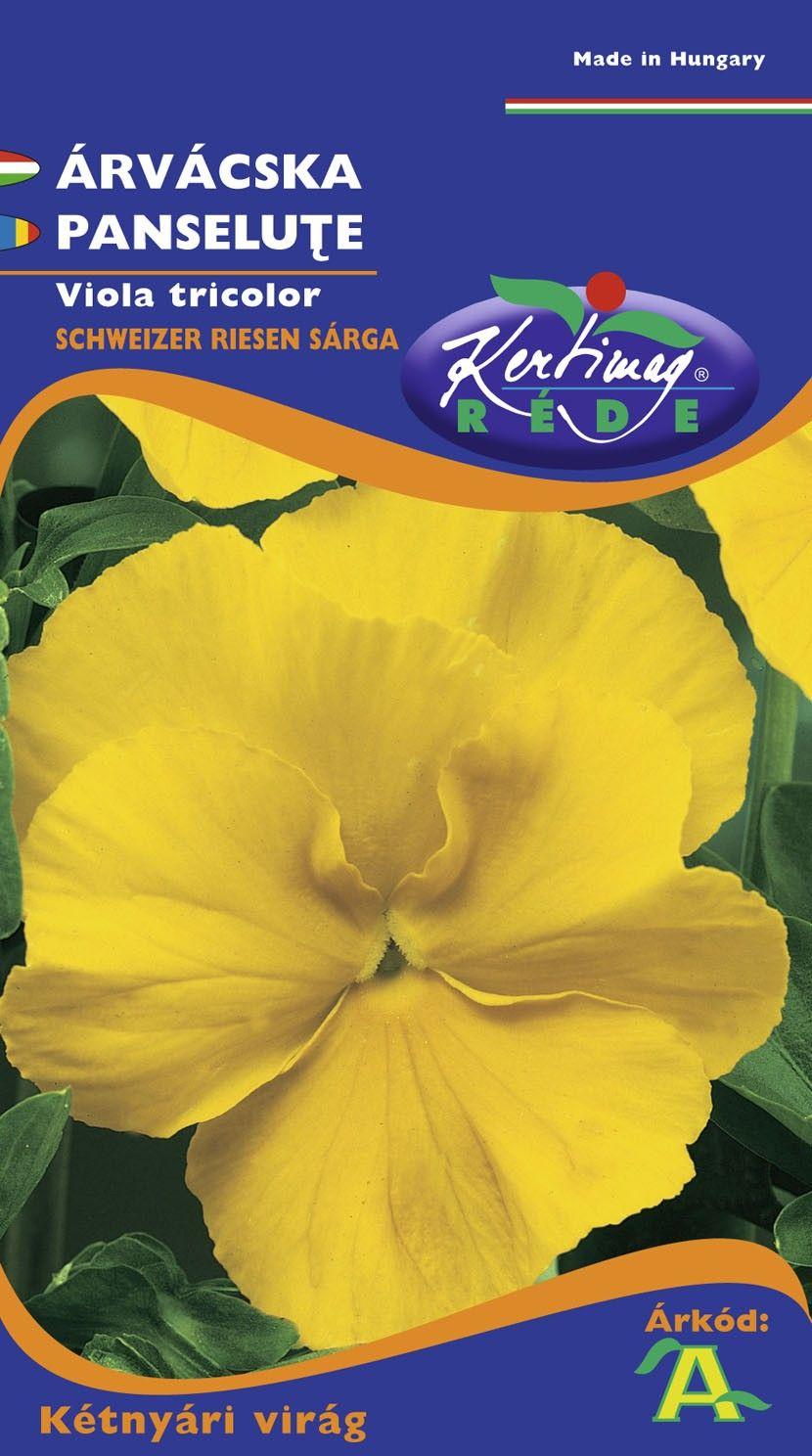 Seminte de Panselute galbene - KM - Viola tricolor
