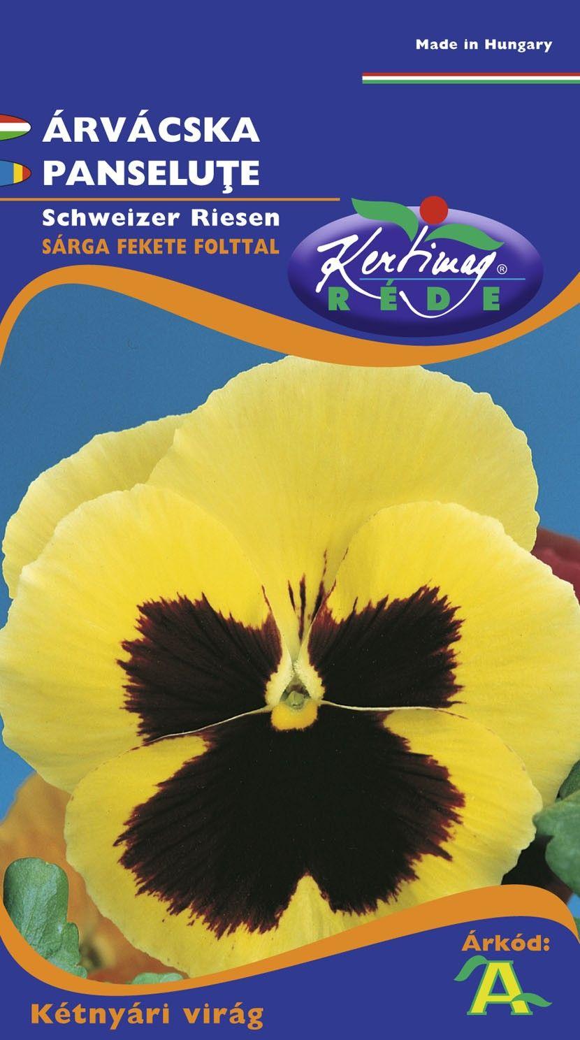 Seminte de Panselute galben cu ochi - KM - Viola tricolor