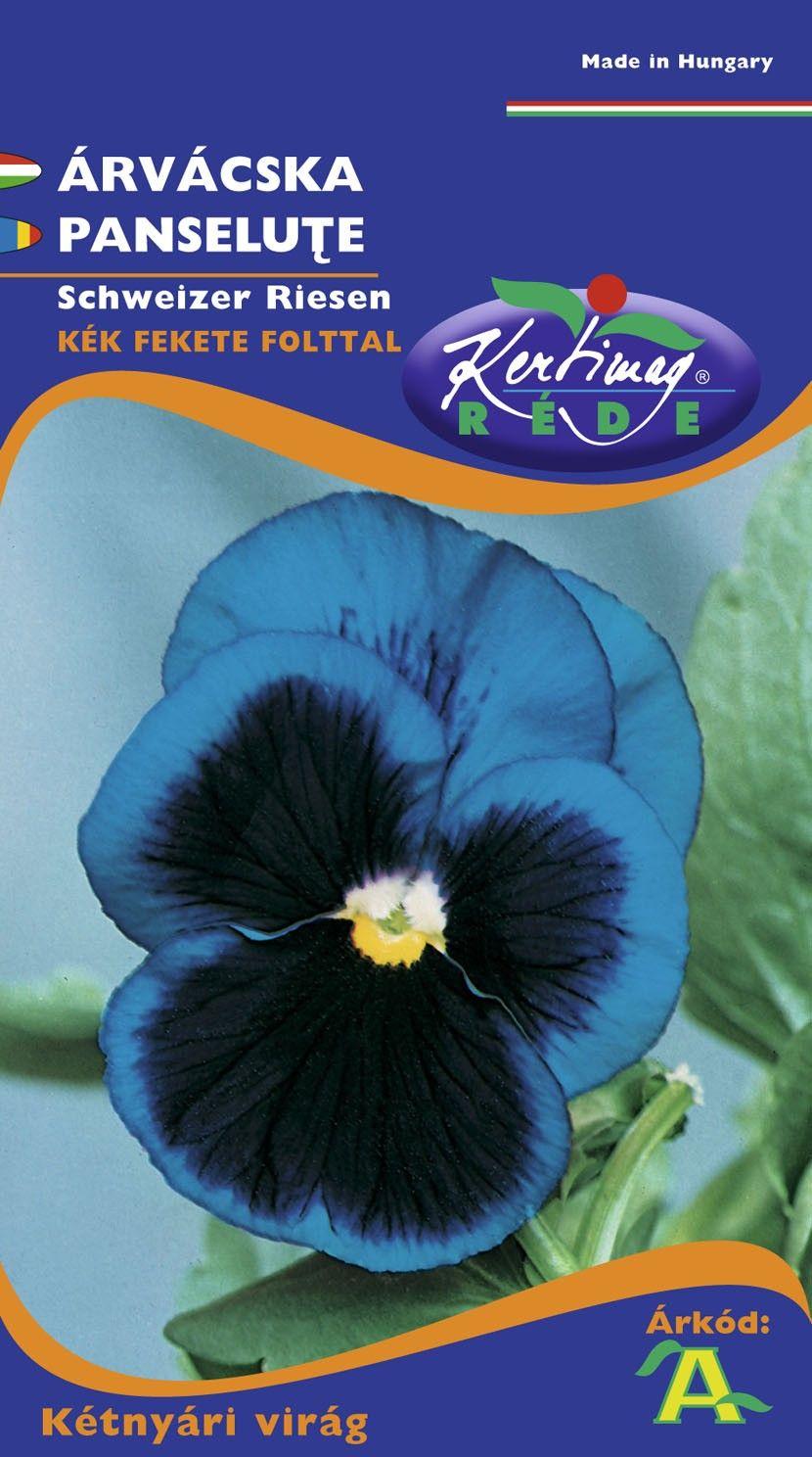 Seminte de Panselute albastru cu ochi - KM - Viola tricolor