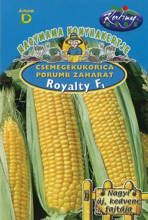 Seminte de Porumb zaharat Royalty F1 - KM - Zea mays convar. saccharata