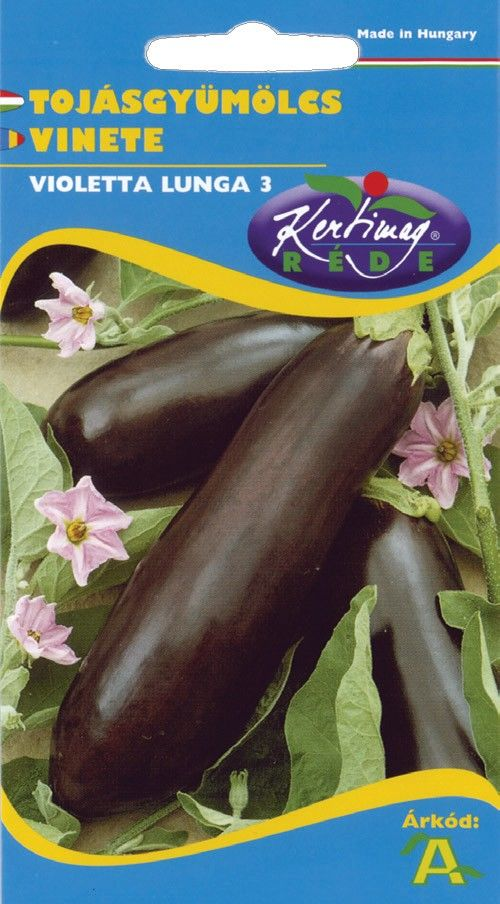 Seminte de Vinete Violetta Lunga 3 - KM - Solanum melongena