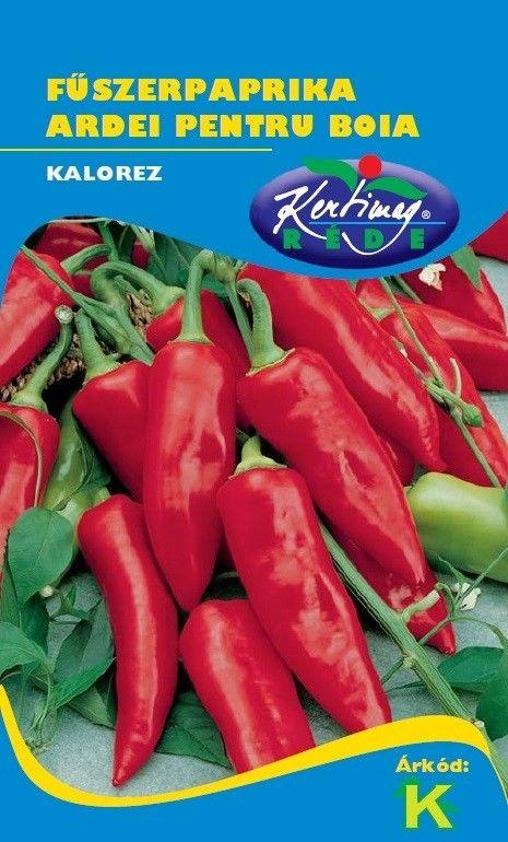 Seminte de Ardei pentru boia Kalorez - KM - Capsicum annuum