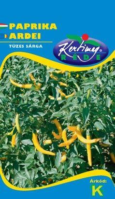 Seminte de Ardei iute Yellow Cayanne - KM - Capsicum annuum