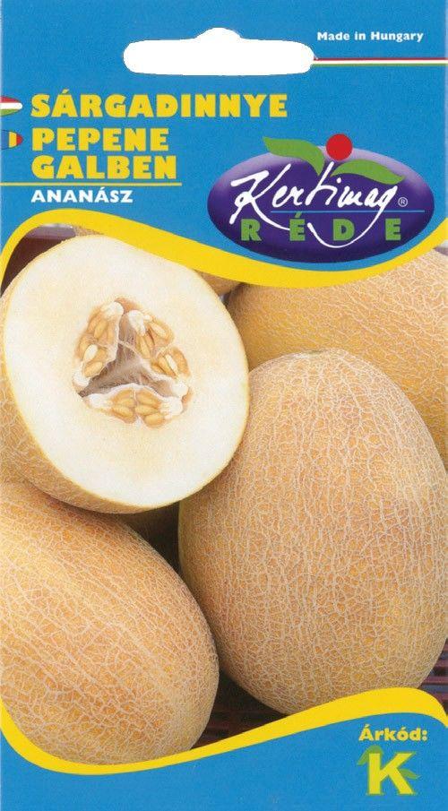 Seminte de Pepene galben Ananas - KM - Cucumis melo