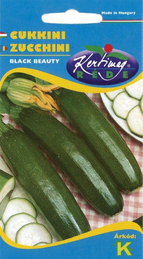 Seminte de Zucchini Black Beauty - KM - Cucurbita pepo convar. giromontiina