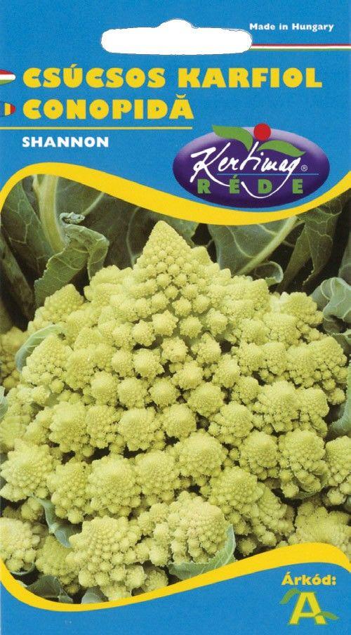 Seminte de Conopida Romanesco Early - KM - Brassica cretica subsp. botrytis