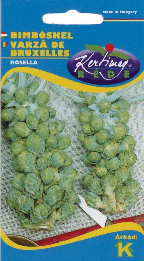 Seminte de Varza de Bruxelles Rosella - KM - Brassica oleracea convar gemmifera