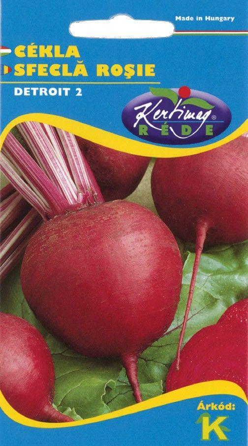 Seminte de Sfecla rosie Detroit 2 - KM - Beta vulgaris conditiva