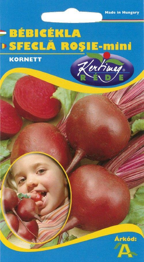 Seminte de Sfecla rosie Mini Bona - KM - Beta vulgaris conditiva