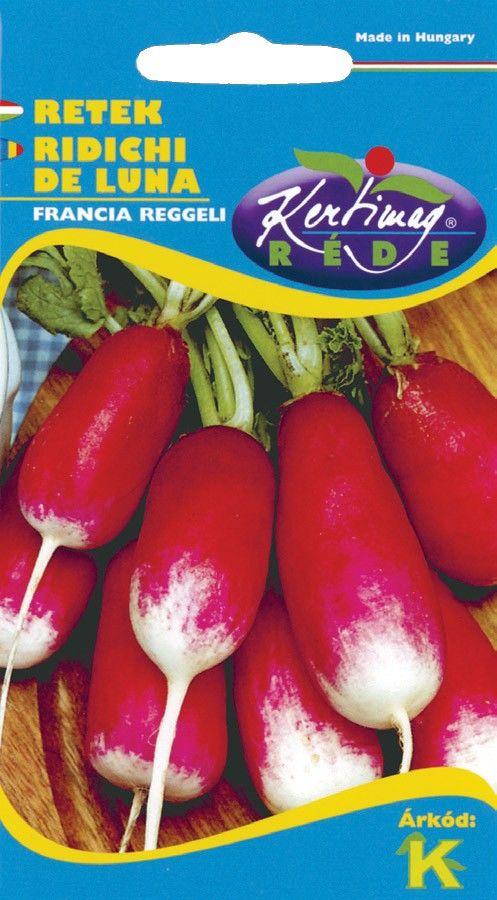 Seminte de Ridichi de luna French Breakfast - KM - Raphanus sativus