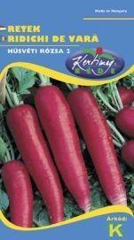 Seminte de Ridichi de luna Ostergruss rosa 2 - KM - Raphanus sativus