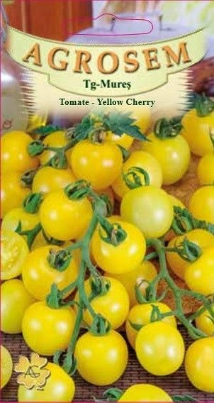 Seminte de Tomate Yellow Cherry - AS - Lycopersicon esculentum