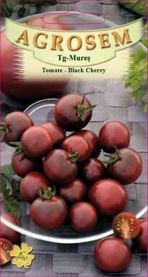Seminte de Tomate Black Cherry - AS - Lycopersicon esculentum