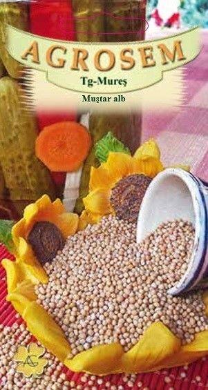 Seminte de Mustar alb - AS - Sinapis alba