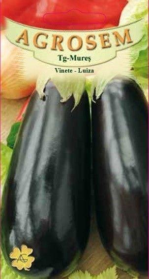 Seminte de Vinete Luiza - BigPack - AS - Solanum melongena