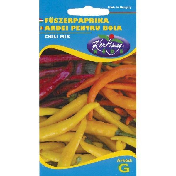 Seminte de Ardei pentru boia Chili mix - KM - Capsicum annuum