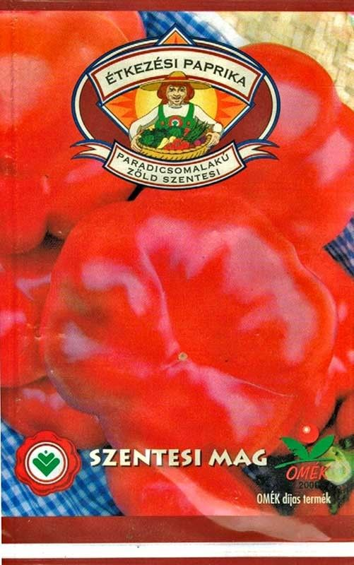 Seminte de Ardei gogosar Zold Szentesi -  SZ - Capsicum annuum L. convar. grossum