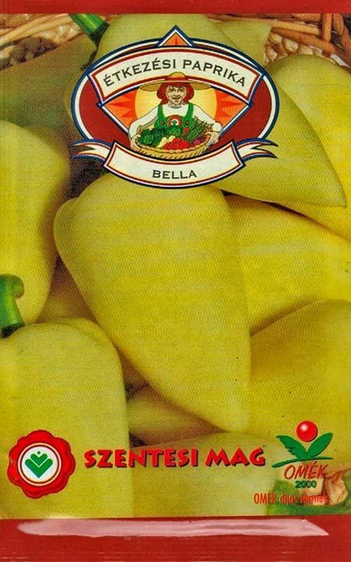 Seminte de Ardei semi-iute Bella - SZ - Capsicum annuum