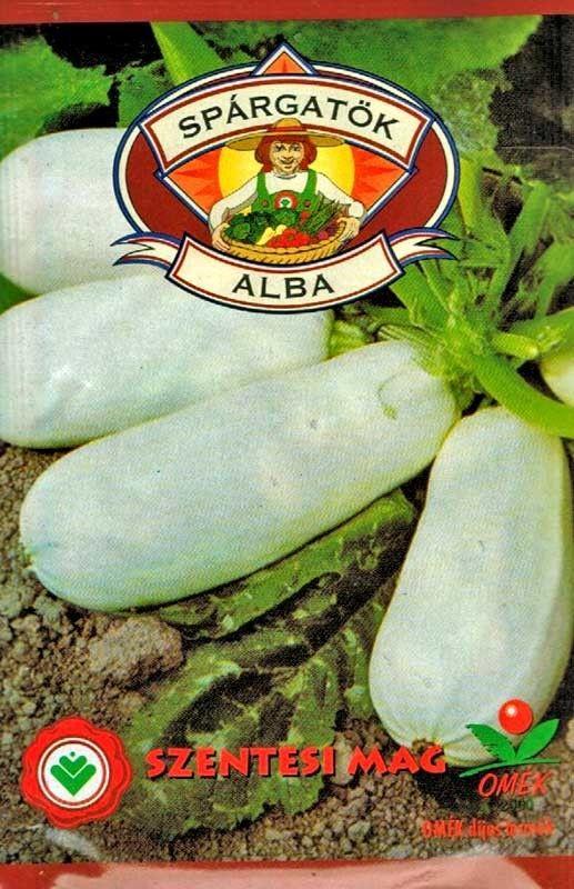 Seminte de Dovlecel Alba - SZ - Cucurbita pepo L.