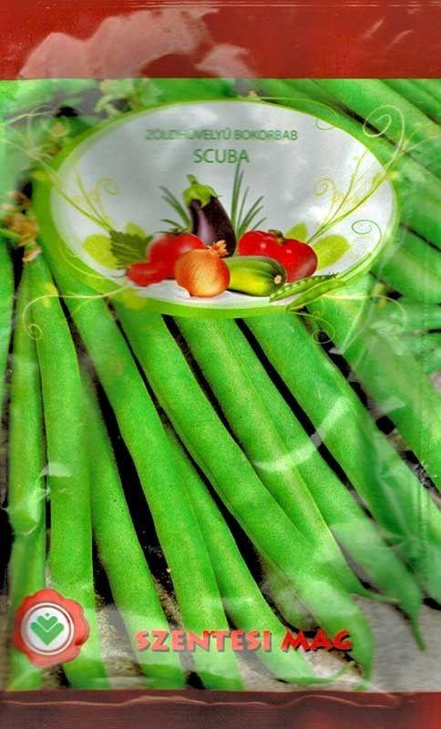 Seminte de Fasole verde pitica Scuba 100 g - SZ - Phaseolus vulgaris L. convar. nanus
