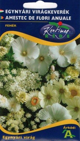 Seminte Amestec de flori anuale albe - KM