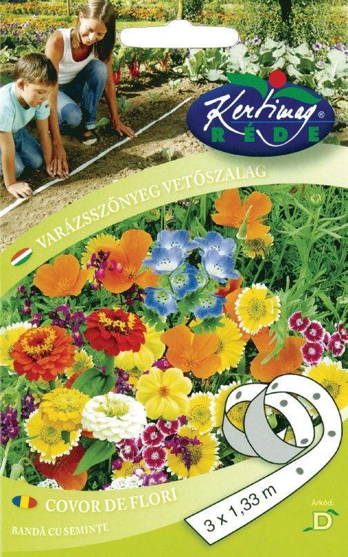 Seminte de Covor de flori pe banda - KM - 3 x 1,33 m