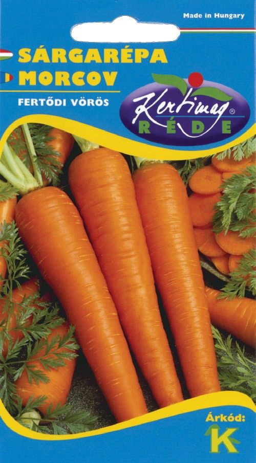 Seminte de Morcovi Fertodi voros - KM - Daucus carota spp. sativus