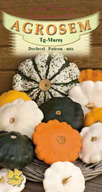 Seminte de Dovlecel Patison mix - AS - Cucurbita pepo var. radiata