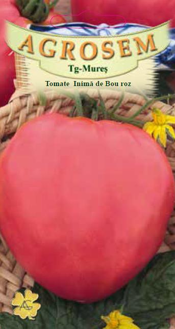 Seminte de Tomate Inima de bou roz - AS - Lycopersicon esculentum