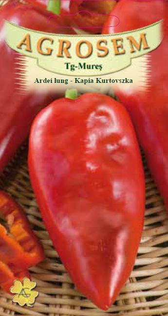 Seminte de Ardei lung Kapia Kurtovszka - Bigpack - AS - Capsicum annuum