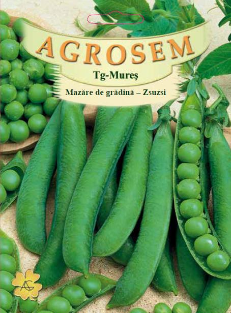 Seminte de Mazare de gradina Zsuzsi 500 g - AS - Pisum sativum