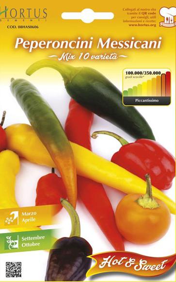 Seminte de Ardei iute Messicani - HT - Capsicum chinense