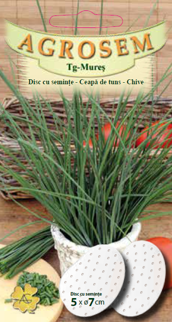 Seminte de Ceapa de tuns - AS disc - Allium schoenoprasum
