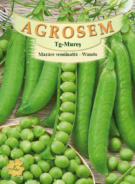 Seminte de Mazare semiinalta Wando 25 kg - AS - Pisum sativum