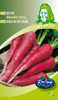 Seminte de Ridichi de vara Ostergruss Rosa 2 - GB - Raphanus sativus