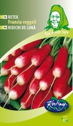 Seminte de Ridichi de luna French Breakfast - GB - Raphanus sativus