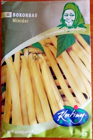 Seminte de fasole pitica Minidor - 100 g - KM - Phaseolus vulgaris