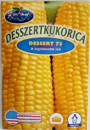 Seminte de Porumb zaharat Dessert 73 - 50 sem - KM - Zea mays convar. saccharata