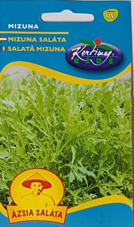 Seminte de Salata asiatica Mizuna - KM - Brassica oleracea