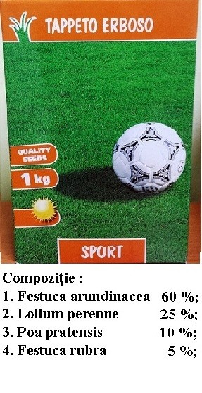 Seminte de Gazon ornamental Sport 1kg - AS